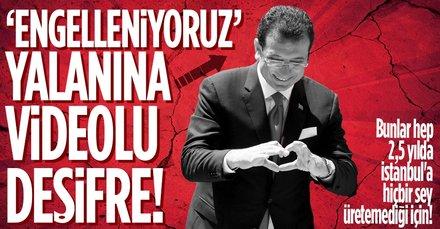 İmamoğlu'nun 'engelleniyoruz' yalanını AK Partili Göksu çürüttü!