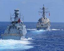 MSB açıkladı: Doğu Akdeniz'de deniz eğitimi