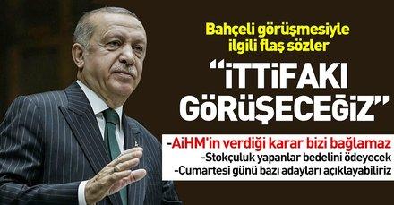 Son dakika: Başkan Erdoğandan flaş açıklamalar