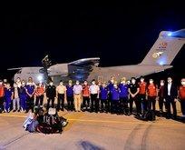 Kardeş ülke Lübnan'a yardım eli uzattık