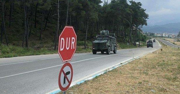 Sınıra komando takviyesi