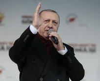 Başkan Erdoğan Ankara'da açıklamalarda bulunuyor