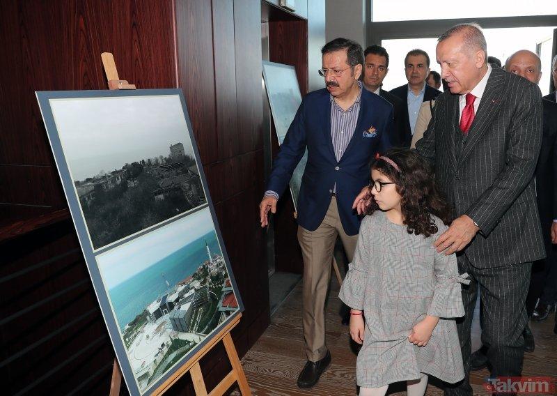 Başkan Erdoğan torunları ile birlikte Yassıada'da incelemelerde bulundu