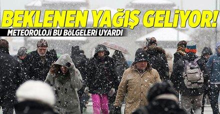 Meteorolojiden İstanbul için son dakika uyarısı! Kar ne zaman yağacak? 13 Kasım 2018 hava durumu