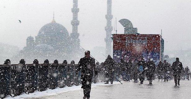 İstanbul kar yağışı ne zaman başlayacak? 13-14-15 Ocak İstanbul kar ne zaman yağacak?