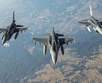 F-16'lar sınırda UFO kovalamış