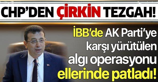 İBB'de CHP'li üyelerden akılalmaz hareket!