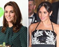 Meghan Markle ile Kate Middleton'ın sırları ortaya çıktı!