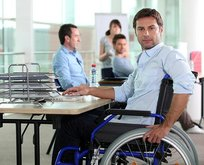 Engelliye çifte destek