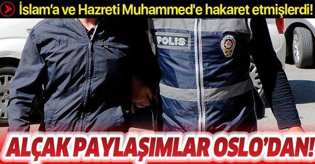 Skandal paylaşımlar Oslo'dan yapılmış!