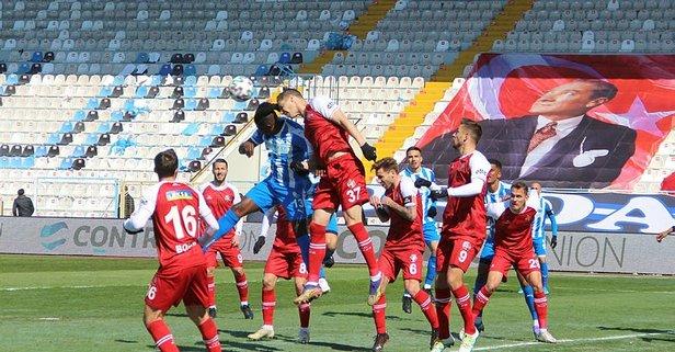 Erzurum'da gol düellosu! Son düdük çaldı