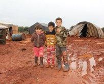 Türkiye'deki mültecilere minnacık yardım