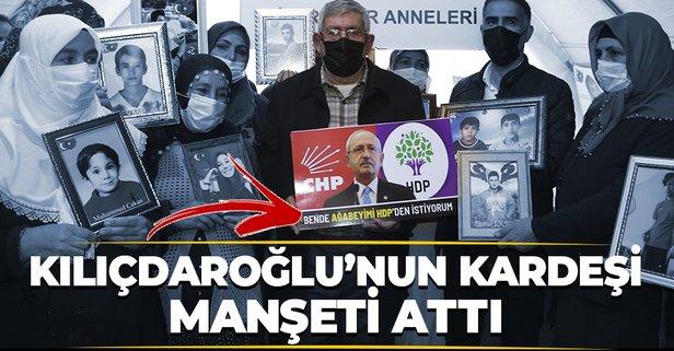 Ağabeyimi HDP'den istiyorum