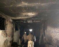 Hindistan'da yangın: 43 ölü, 15 yaralı!