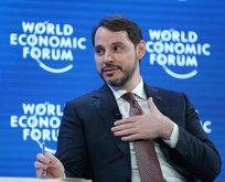 Bakan Albayrak'tan Davos paylaşımı