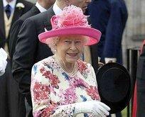 Kraliçe şokta