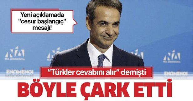Yunanistan Başbakanı çark etti! Türkiye ile yeni başlangıç mesajı