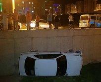 Karabük'te ilginç kaza