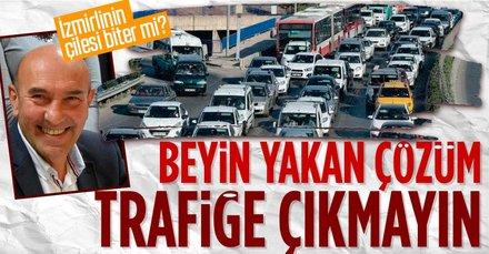 Vatandaşı perişan eden trafiğe beyin yakan çözüm!