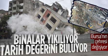 Bursa'da tarihi silüet gün yüzüne çıkıyor