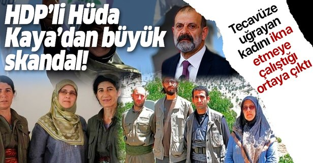 HDP'li kadın vekilden skandal hareket!