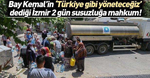 İzmir'de 36 saatlik su kesintisi