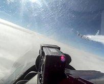 Havada tehlikeli gerilim! Rusya o görüntüleri yayınladı