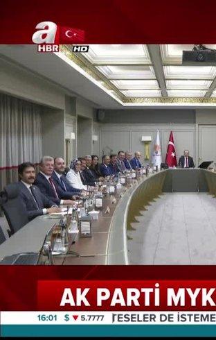 AK Parti MYK'da seçim sonuçları değerlendirilecek (Video)