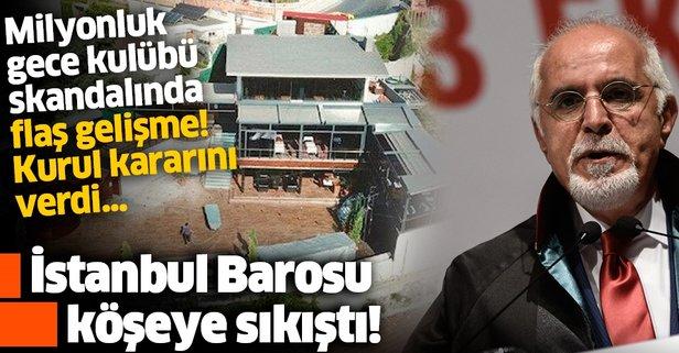 İstanbul Barosu bu kez kaçamayacak
