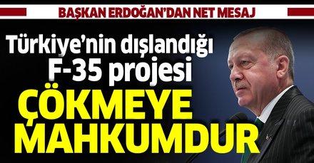 Cumhurbaşkanı Erdoğan'dan IDEF'19'da kritik mesajlar