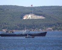 Rus donanmasına ait arızalı tanker Çanakkale...