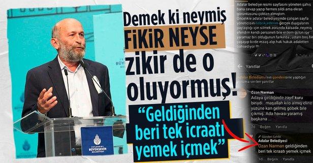 Adalar Belediye Başkanı Erdem Gül'e şok!