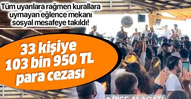 Sosyal mesafe kurallarını ihlal eden 33 kişiye ceza!
