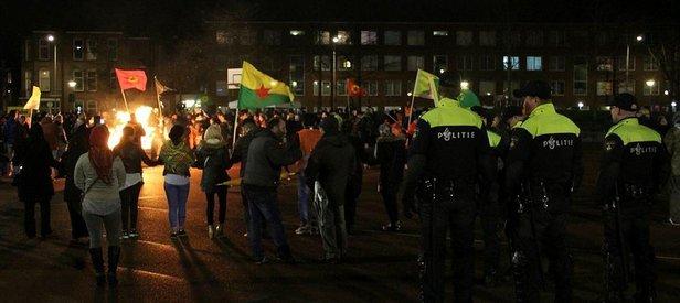 İkiyüzlü Hollandadan PKKya izin!