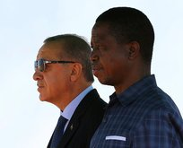 Başkan Erdoğan Zambiya'da müjdeyi verdi