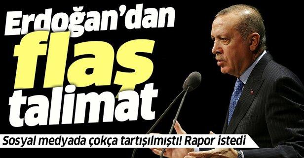 Psikoloji eğitimi konusunda Başkan Erdoğan'dan flaş talimat
