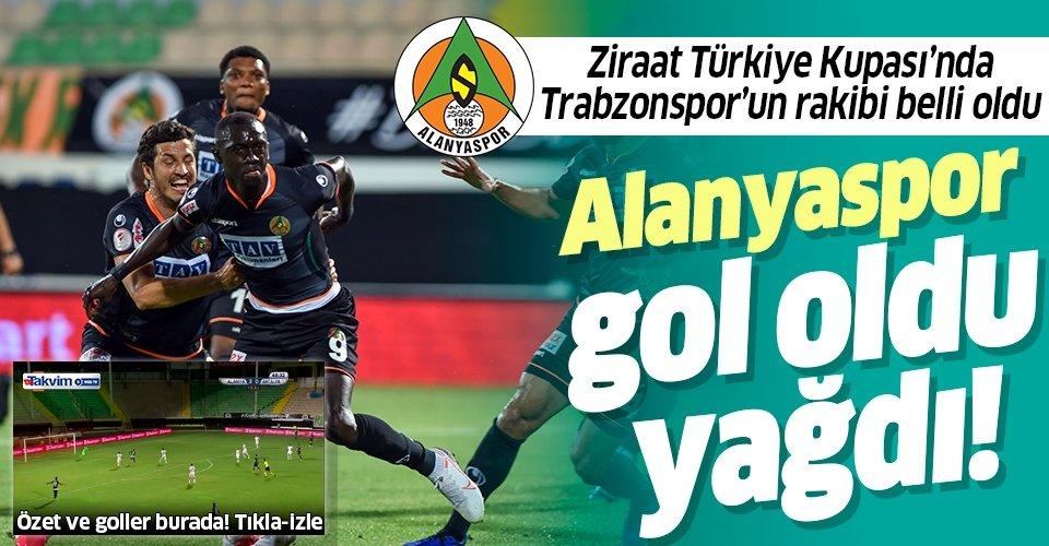 Ziraat Türkiye Kupası'nda finalin adı belli oldu | MAÇ SONUCU: Alanyaspor 4-0 Antalyaspor ÖZET VE GOLLERİ İZLE