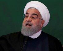 Ruhani orayı işaret etti! İran'ı karıştıracak açıklama
