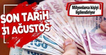 SGK prim borcu olanlar dikkat! Son tarih 31 Ağustos!