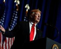 Trump İran'a ait İHA'yı düşürdüklerini açıkladı