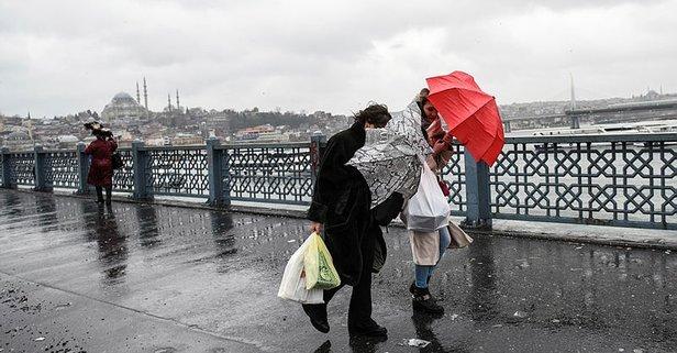 Meteorolojiden son dakika kuvvetli yağış uyarısı