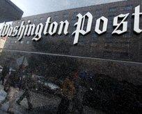 Washington Post'tan skandal haber!