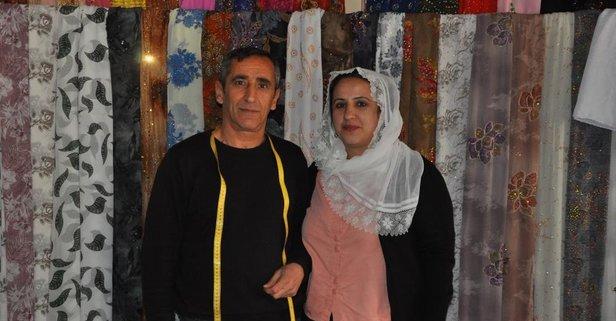 Bin lira kredi aldı eşini de çırağı yaptı