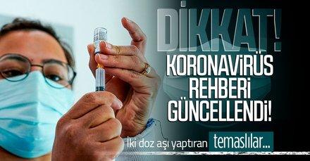 Koronavirüs rehberi güncellendi!