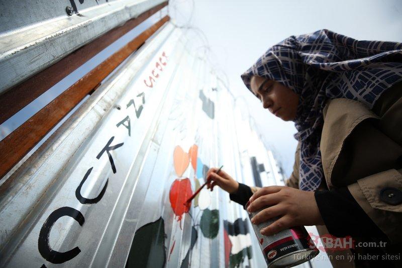 Filistini unutmayalım diye Ayrım Duvarını Düzceye taşıdılar