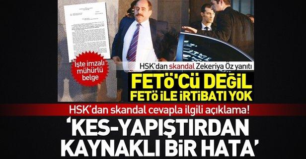 HSKdan skandal cevapla ilgili açıklama!