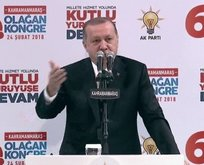 Erdoğandan sert sözler... Vicdansızlar, edepsizler...