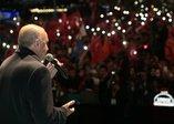 Üsküdar'da muhteşem anlar... Başkan Erdoğan, 'Bizimkisi bir aşk hikayesi' şarkısını söyledi