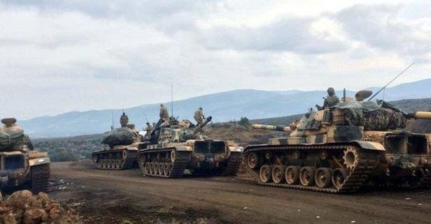 Afrin'de o nokta da teröristlerden alındı