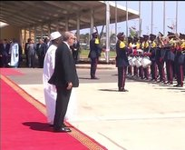 Cumhurbaşkanı Erdoğan Senegal'den resmi törenle uğurlandı